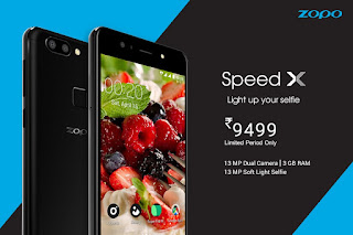 Zopo to go online with Speed X, launches for Rs 9,499