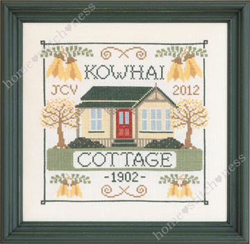 Kowhai Cottage by homestitchness