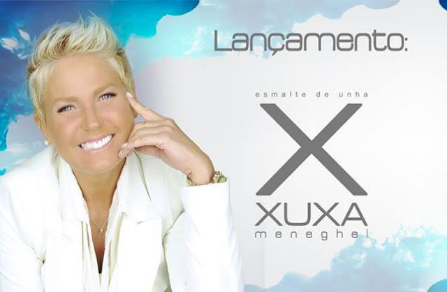 Esmaltes da Xuxa com a Foup