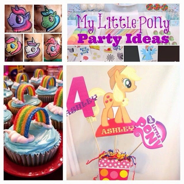 Giggle Bean My Little Pony Party Ideas