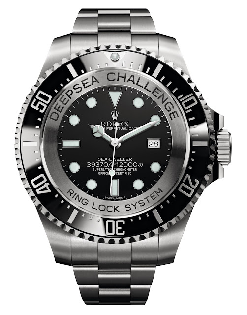 Photo of Rolex Deepsea Challenge Experimental Watch (photo: Rolex)