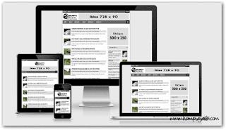 20 Template Blogger Terbaik Untuk Daftar Adsense