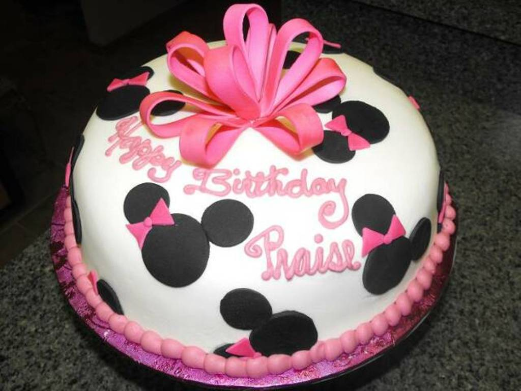Make Minnie Mouse Cake Minnie Mouse Minnie Mouse Bakery Cake