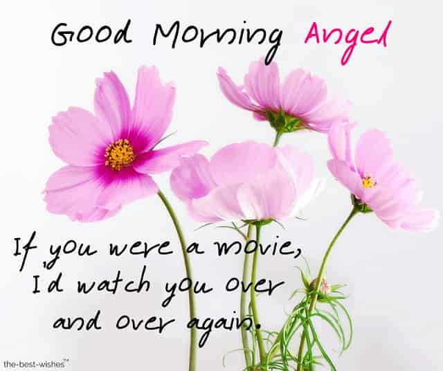 good morning angel text messages