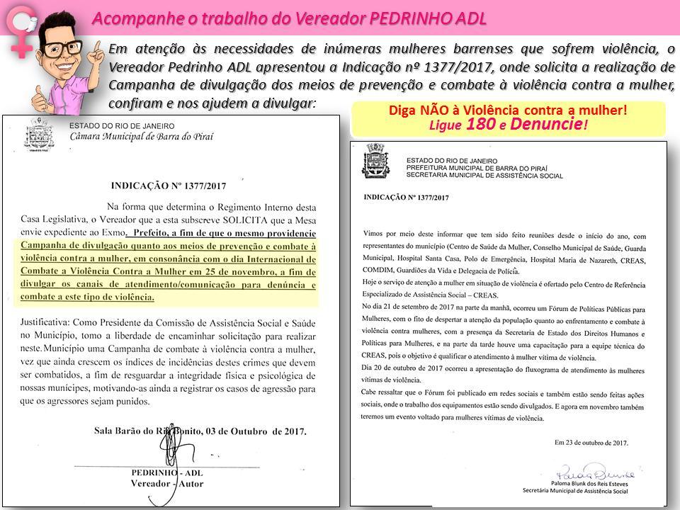 Vereador Pedrinho Adl Ofício Nº 3152015 Solicitação Em