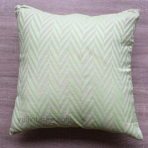 Buy Lemon Green Chevron Pattern Accent Throw Pillows in Port Harcourt, Nigeria