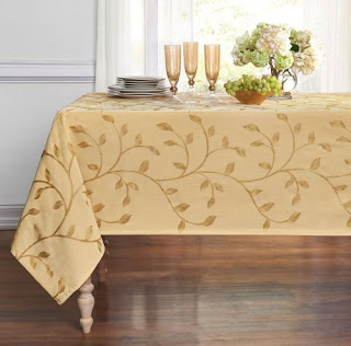 Leaf tablecloth