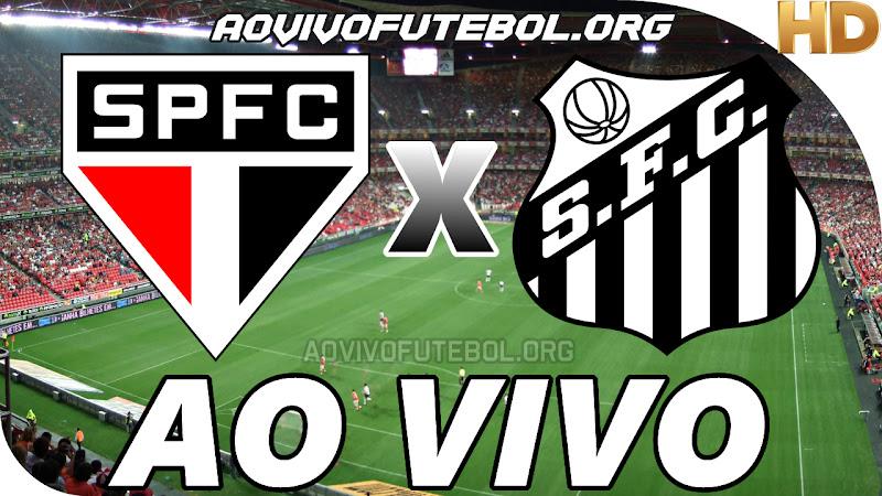 São Paulo x Santos Ao Vivo na TV HD