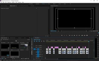 Bagaimana Cara Cepat Menghapus Celah Kosong Di Adobe Premier PRO Setelah Dipotong? Tutorial Delete Ripple Video