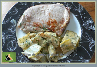 Vie quotidienne de FLaure: Côtes de blettes et côtes de veau