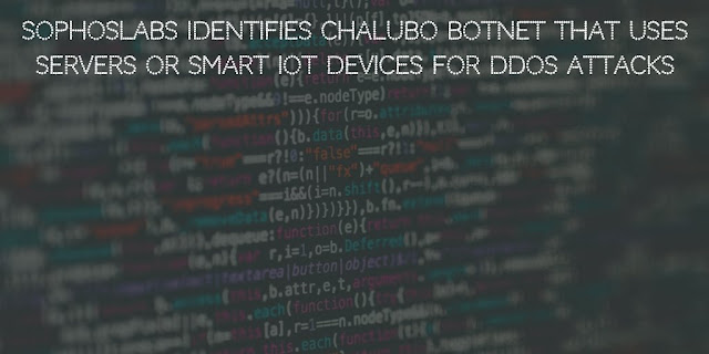 SophosLabs identifies Chalubo Botnet that uses servers or smart IoT devices for DDOS attacks