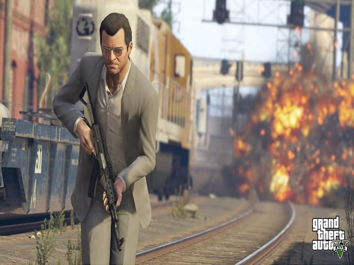 تحميل لعبة جاتا للكمبيوتر ميديا Grand+Theft+Auto+V+-