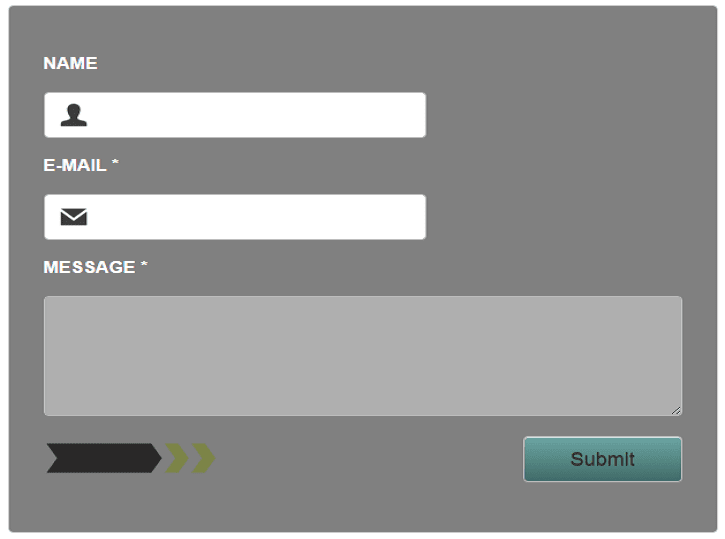 4 stylish contact form for blogger