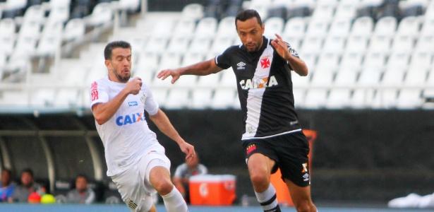 Em jogo sem torcida, sem gols e sem brilho, o Vasco empata com o Santos no Engenhão