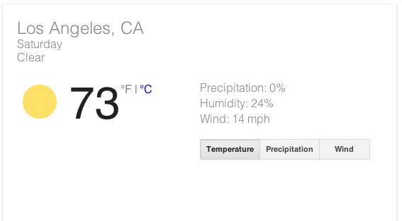 The Great Los Angeles Walk: Weather Forecast: Looking Good for Saturday