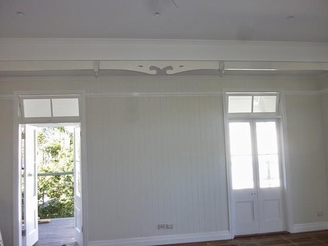 Renovating A Queenslander Mouldings Picture Rails & Finlaysons Doors - Sanfranciscolife