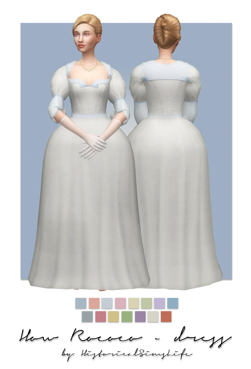 ts4 how rococo dress hat history lover 39 s sims blog. Black Bedroom Furniture Sets. Home Design Ideas