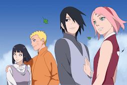 10 Pasangan di Naruto Paling Serasi dan Romantis