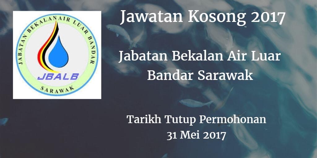 Jawatan Kosong Jabatan Bekalan Air Luar Bandar Sarawak 31 Mei 2017