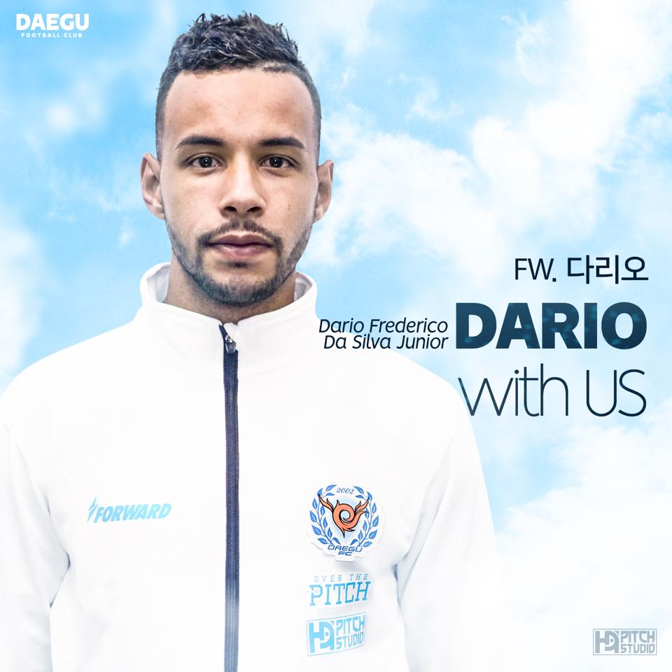 Transfer Profile: Dário Júnior Daegu FC