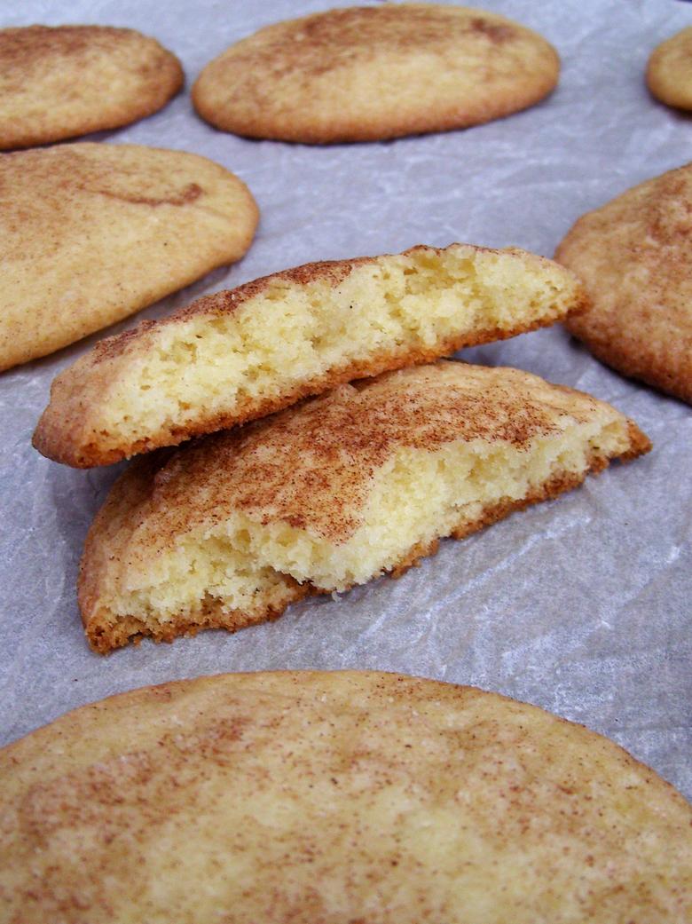 snickerdoodles no baking soda no cream of tartar recipe