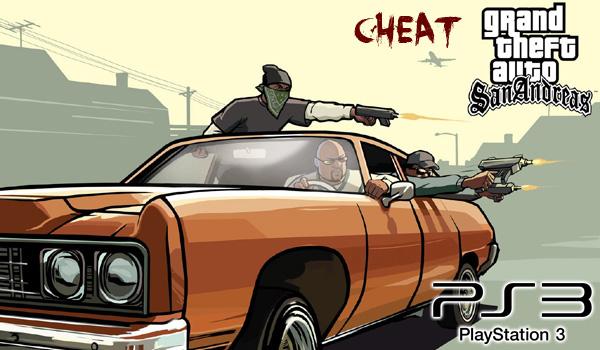 cheat gta san andreas ps3