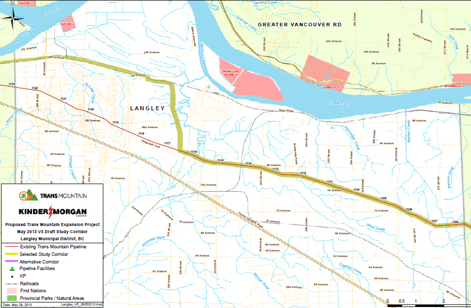 The South Fraser Blog: Kinder Morgan Trans Mountain Pipeline