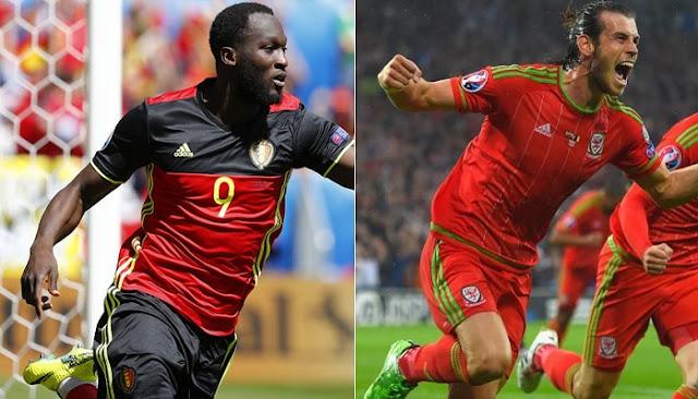 Belgica vs Gales en vivo Eurocopa 2016