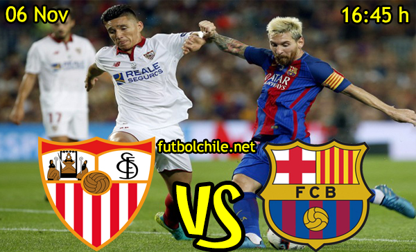 Ver stream hd youtube facebook movil android ios iphone table ipad windows mac linux resultado en vivo, online: Sevilla vs Barcelona