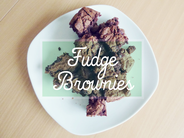fudge brownies recipe recette