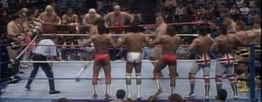 WWF SURVIVOR SERIES 1987 -TAG TEAM ELIMINATION MATCH