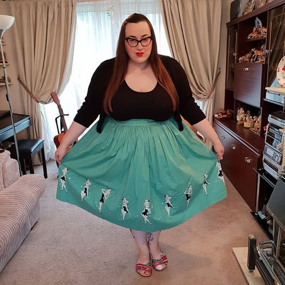 Torrid Tinkerbell Skirt