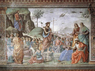 De Prediking van Johannes De Doper - 3de zondag van de Advent - Basiliek van Dadizele