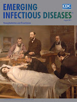 "A photo courtesy of the CDC of an old painting of a doctor at the bedside of his patient, and it is the picture on a CDC's report entitled ""Emerging Infectious Diseases"" the photo and caption provides a good illustration of sickness to illustrate the sickness referred to in the article "" Seven Causes of Sickness and Death in the Bible"""