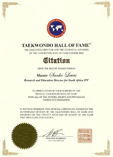 soo shim kwan 水心館수심관 taekwondo hall of fame citation taekwondo hall of fame citation