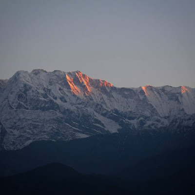 Montañas desde Pokhara