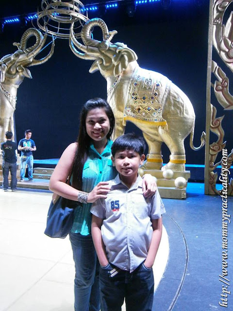 The King And I Set at Resorts World Manila