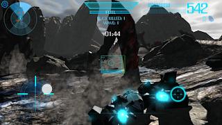 Player adalah harapan terakhir umat manusia terhadap kepunahan total Game:  Osiris Battlefield apk + obb