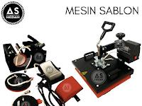 Harga Mesin SABLON 5 IN 1 Terbaru 2017