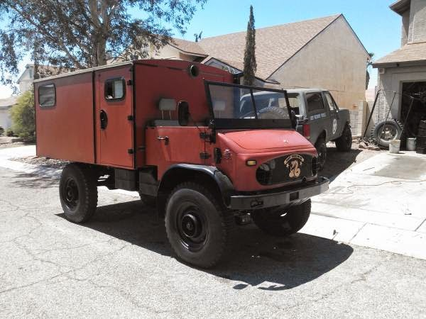 Used rvs 1958 mercedes benz unimog off road rv for sale by for Mercedes benz camper for sale