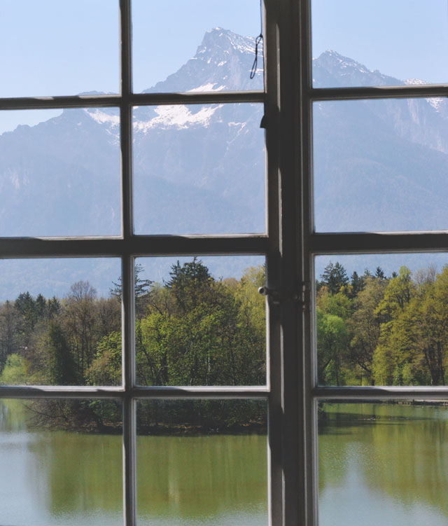 Leopoldskron Mountain Lake Suite View