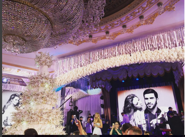 world most expensive wedding russia