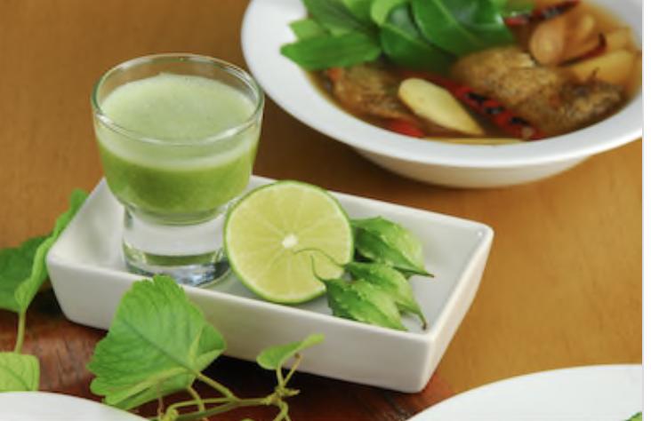 Bitter Gourd-Mint-spinach Juice