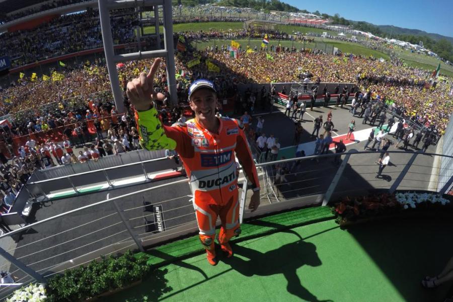 MotoGP 2016 Mugello Italia Iannone Podium