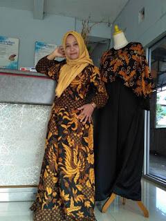 model-baju-batik-gamis