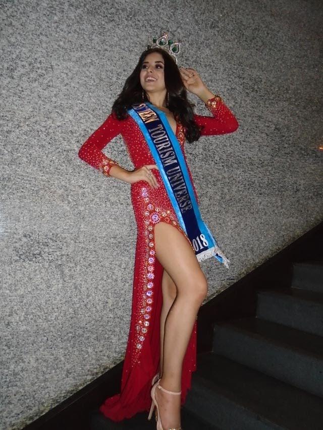 Júlia Hemza também levou a faixa de Miss Teen Tourism Universe 2018. Foto: Marcelo Ramos