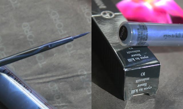 Giorgio Armani Eclipse Collection for Summer 2015 синяя подводка для глаз