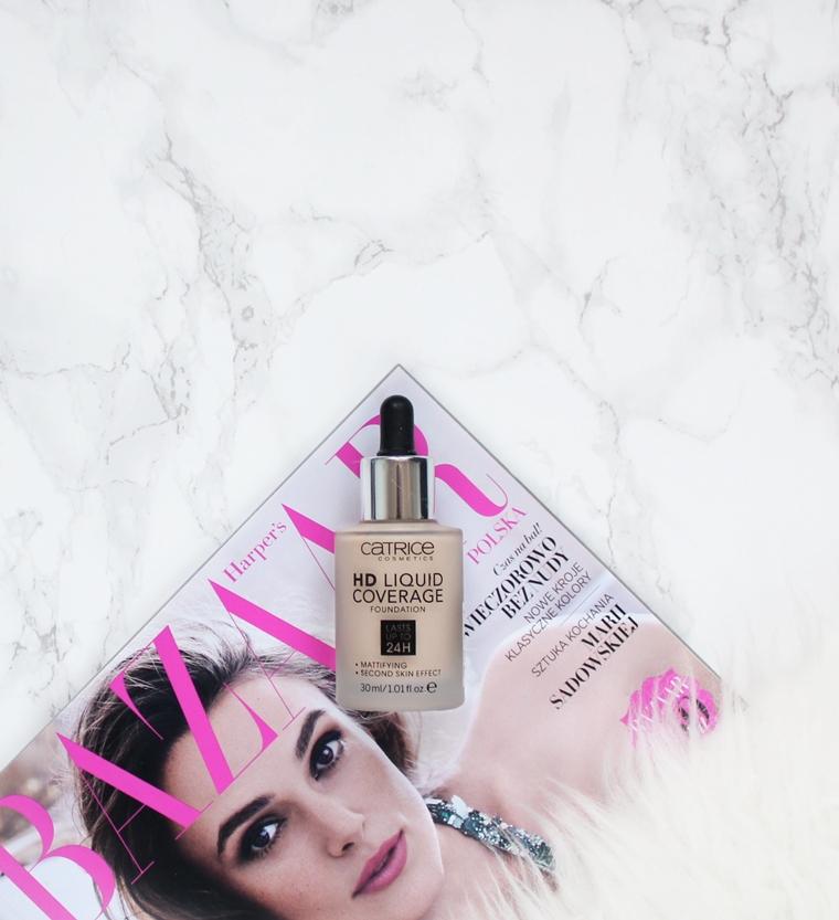 Ulubione kosmetyki 2016 roku - Makijaż - Catrice HD Liquid Coverage Podkład do twarzy