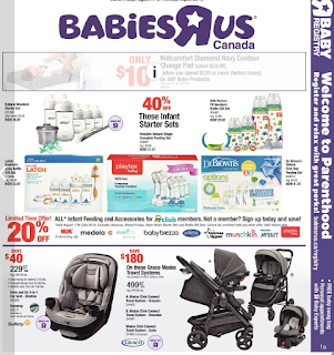 Babies R Us Weekly Flyer Circulaire August 17 - 23, 2018