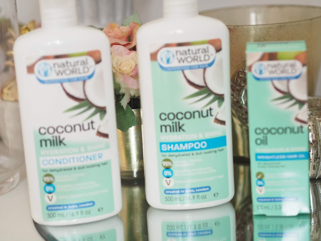 Natural World Superfood For Hair Coconut Milk